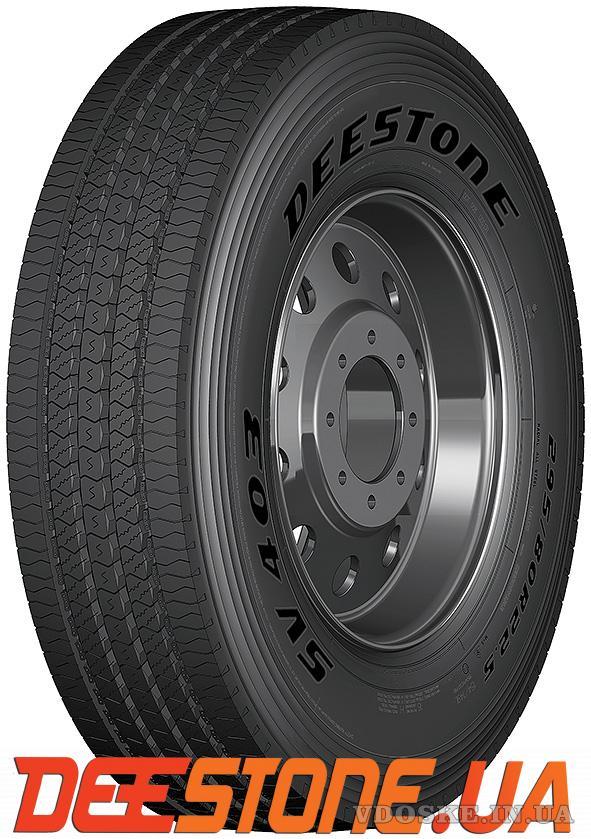 КУПИТЬ грузовые шины 295/80R22.5 DEESTONE SV403 154/149L 16PR (Таиланд) универсальная / рулевая (2)