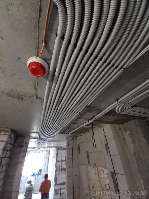 Услуги электрика Харьков. Штробы под электрику без пыли с пылесосом (3)