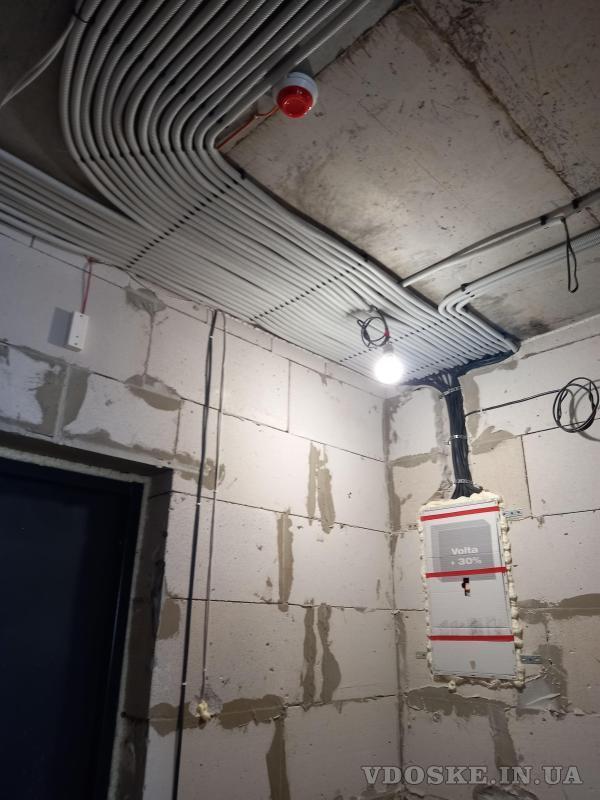 Услуги электрика Харьков. Штробы под электрику без пыли с пылесосом (2)