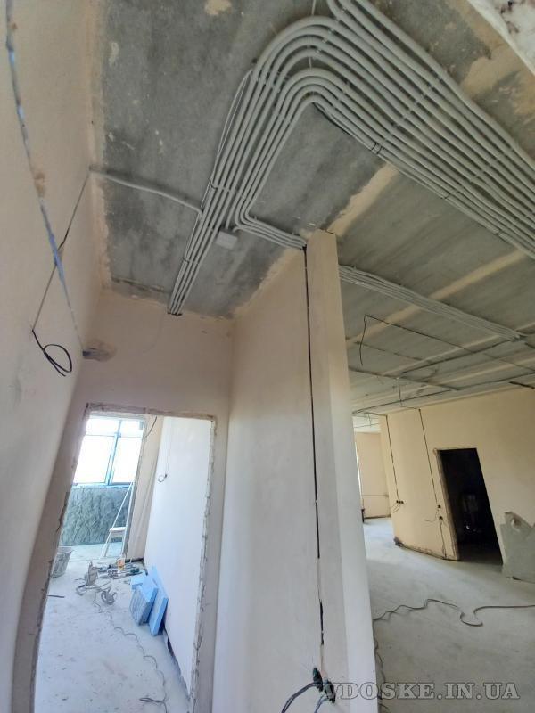 Услуги электрика Харьков. Штробы под электрику без пыли с пылесосом (6)
