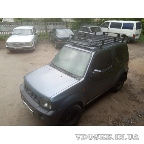 Экспедиционный багажник  Suzuki Jimny (4)