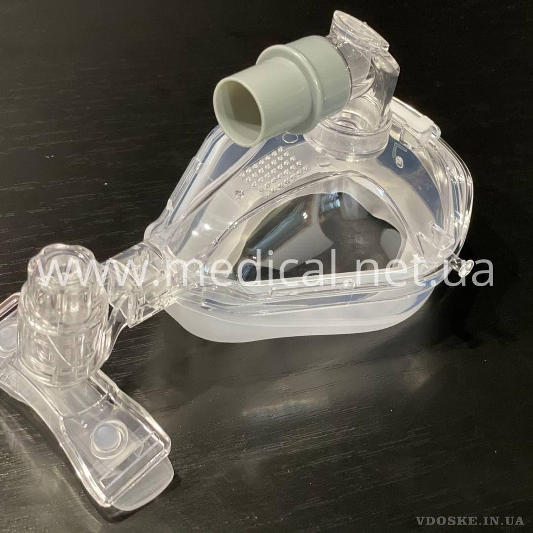 Ротоносова маска для наінвазивної терапії CPAP (3)
