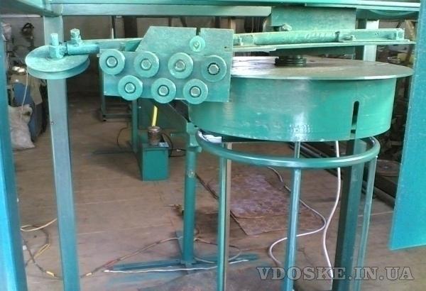 экструдерная линия по нанесению пвх на проволоку, розетоукладчик (2)