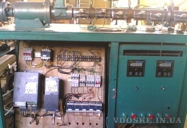 экструдерная линия по нанесению пвх на проволоку, розетоукладчик (4)