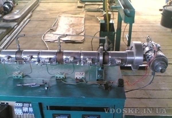 экструдерная линия по нанесению пвх на проволоку, розетоукладчик (3)