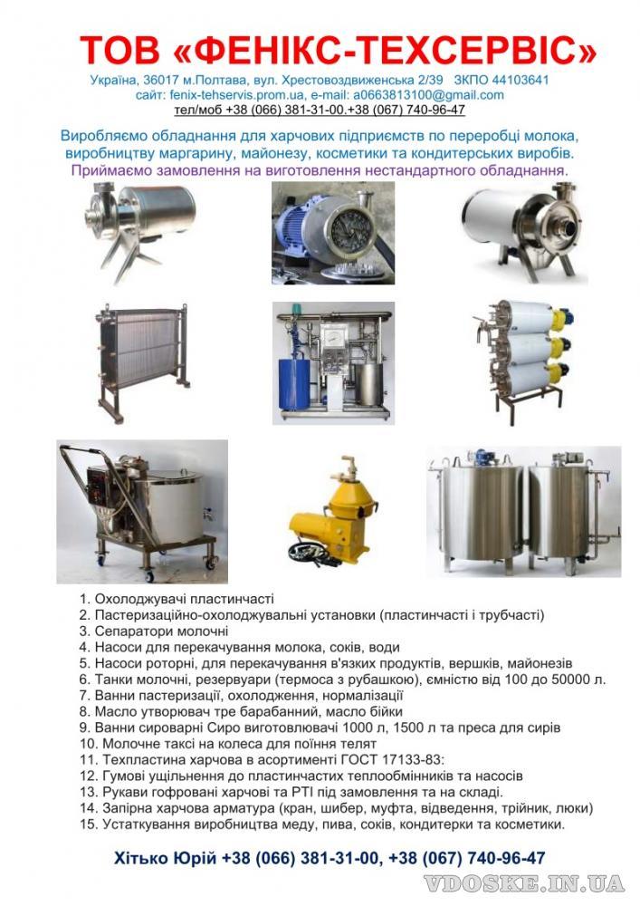 Насос для перекачивание соков 1Г2-ОПД ( 25 М³/Ч | 50-1Ц7,1 — 31) (2)
