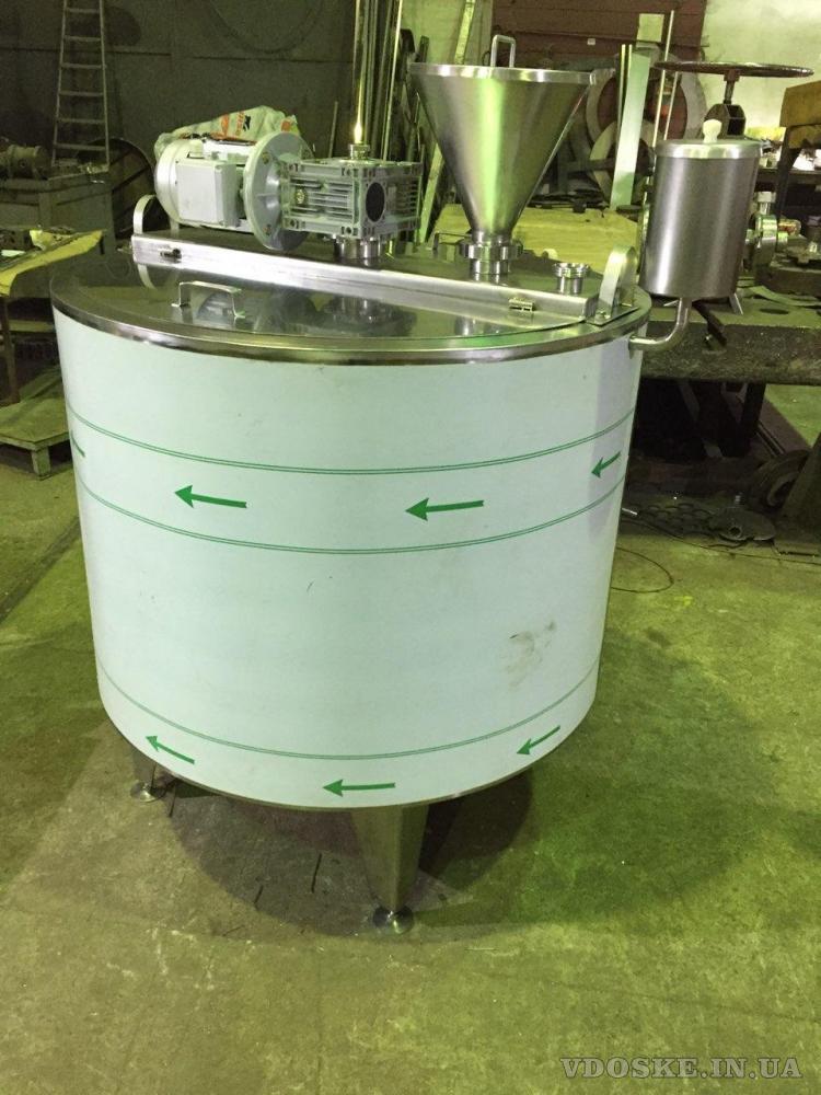 Смеситель для перемешивания сыпучих материалов (2)