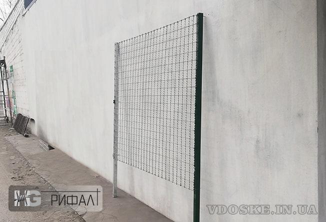 Забор Рифал (ТМ). Новый вид гибридного забора. (2)