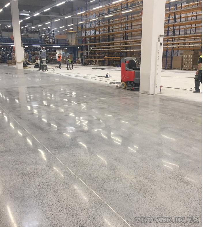 Алмазная шлифовка бетонных полов (2)