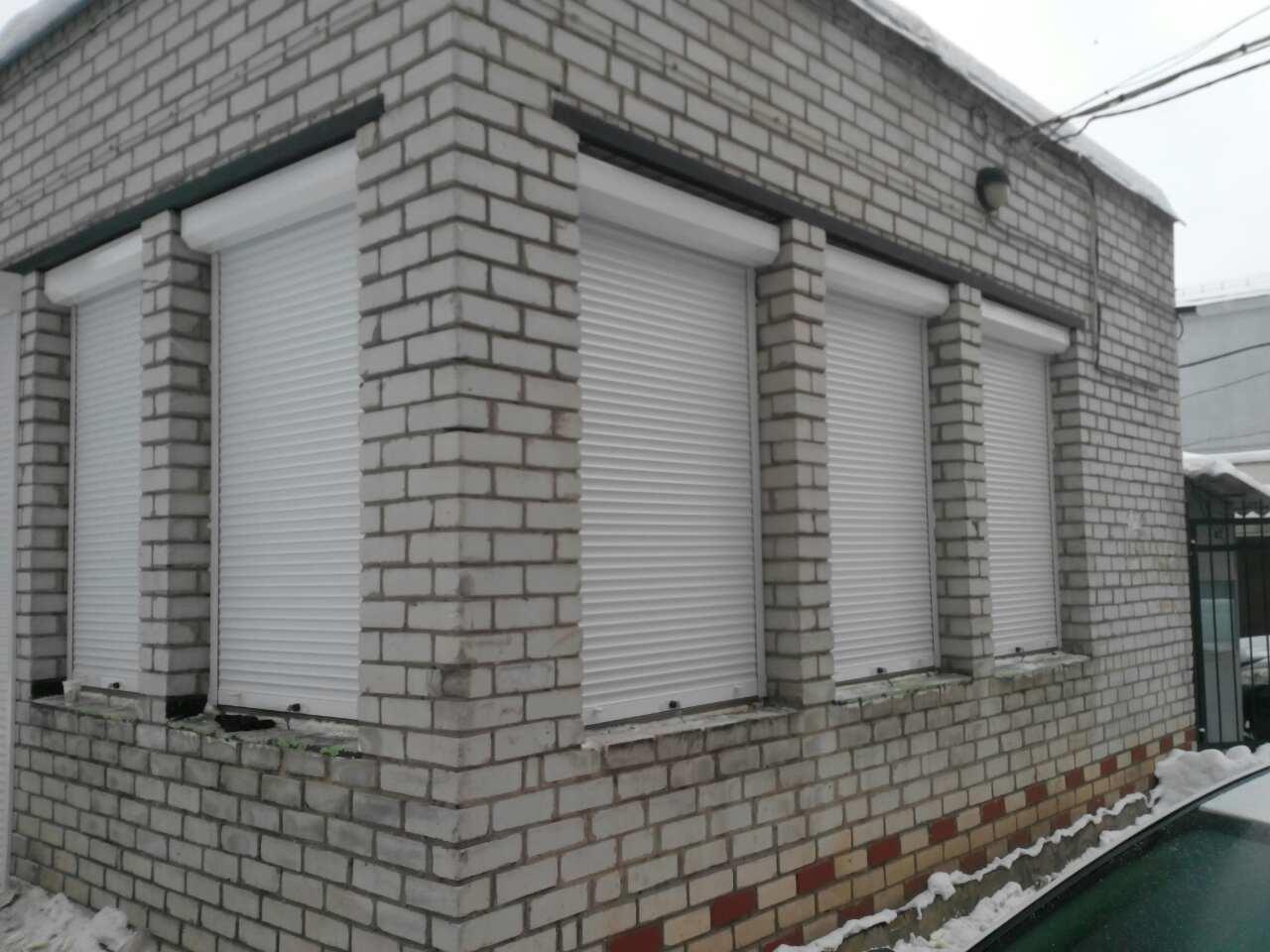 Защитные роллеты, рольставни в Харькове (6)