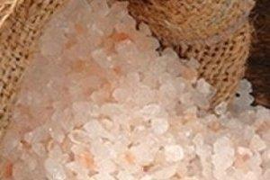 Соль гималайская розовая и черная