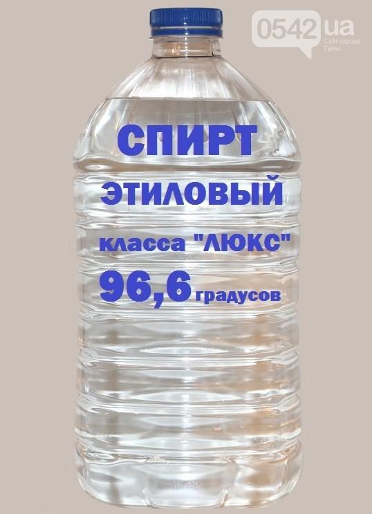 Спирт этиловый пищевой премиум качество 96.6%