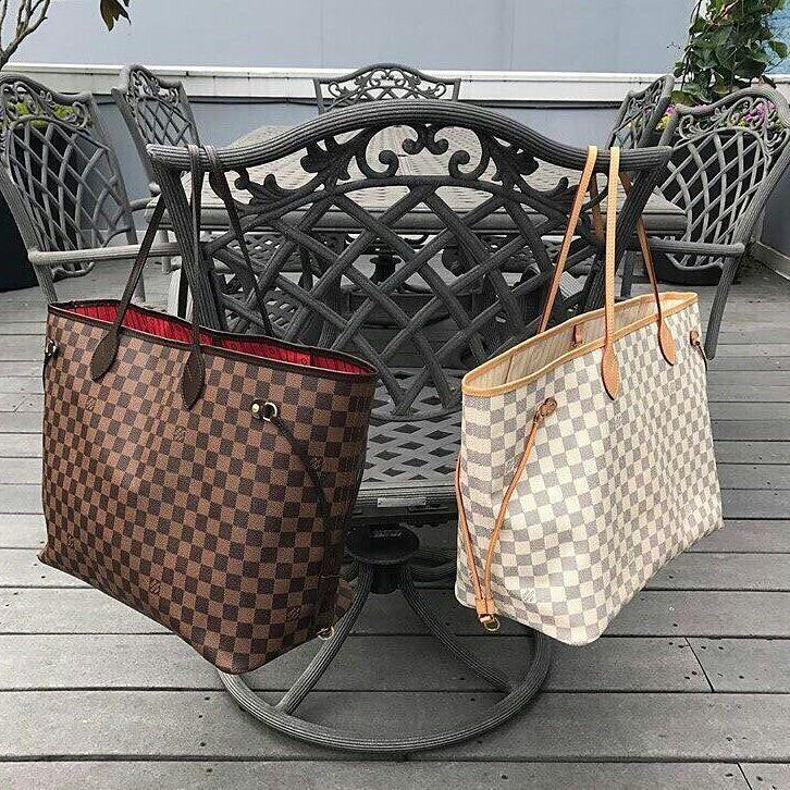 Женская сумка Louis Vuitton Neverfull GM купить сумку луи витон копию (2)