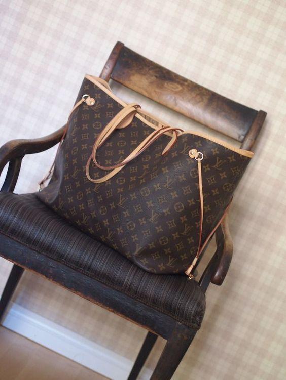 Женская сумка Louis Vuitton Neverfull GM купить сумку луи витон копию