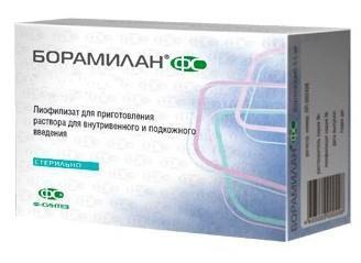 Борамилан 2,5мг (бортезомиб)