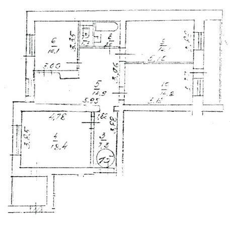 Продам собственную 3х комнатную квартиру в Киеве, ул. Борщаговская 145 (3)