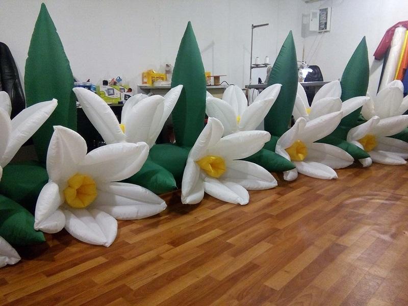 Надувные гирлянды и цветы Inflatable lanterns and apartments Цена за 1 м