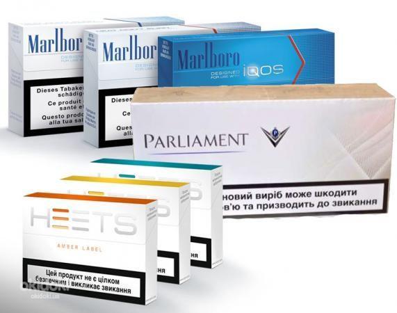Тобачные стики HEETS, Marlboro, Parlament