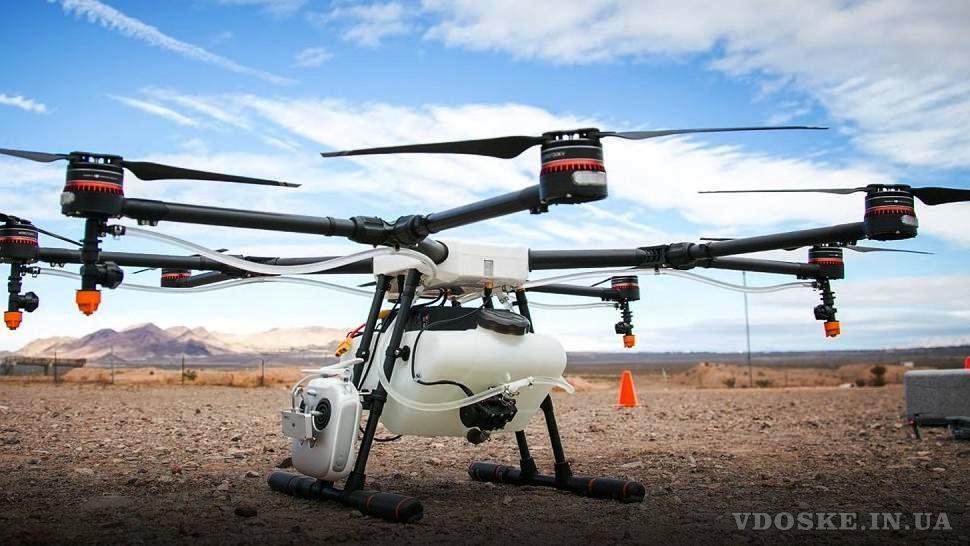 Агрохимические услуги: десикация подсолнечника сои квадрокоптером вертолетом агродроном дельтапланом