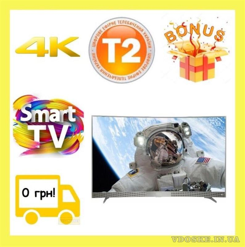 "Гнутий Телевізор Thomson 55UD6596 Ultra HD, 55"", Smart TV"