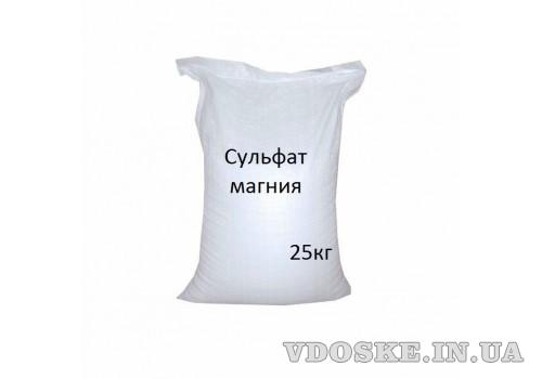 Купить Сульфат магнію Кристал. mg16 S13 мішок 25 кг Дніпро.