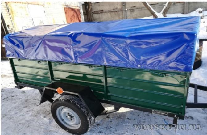 Купить новый одноосный прицеп Днепр-21 Тент и брызговики в подарок