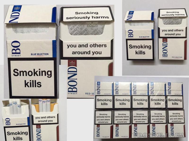 Сигареты Bond duty free (Blue, Red) оптовая стоимость