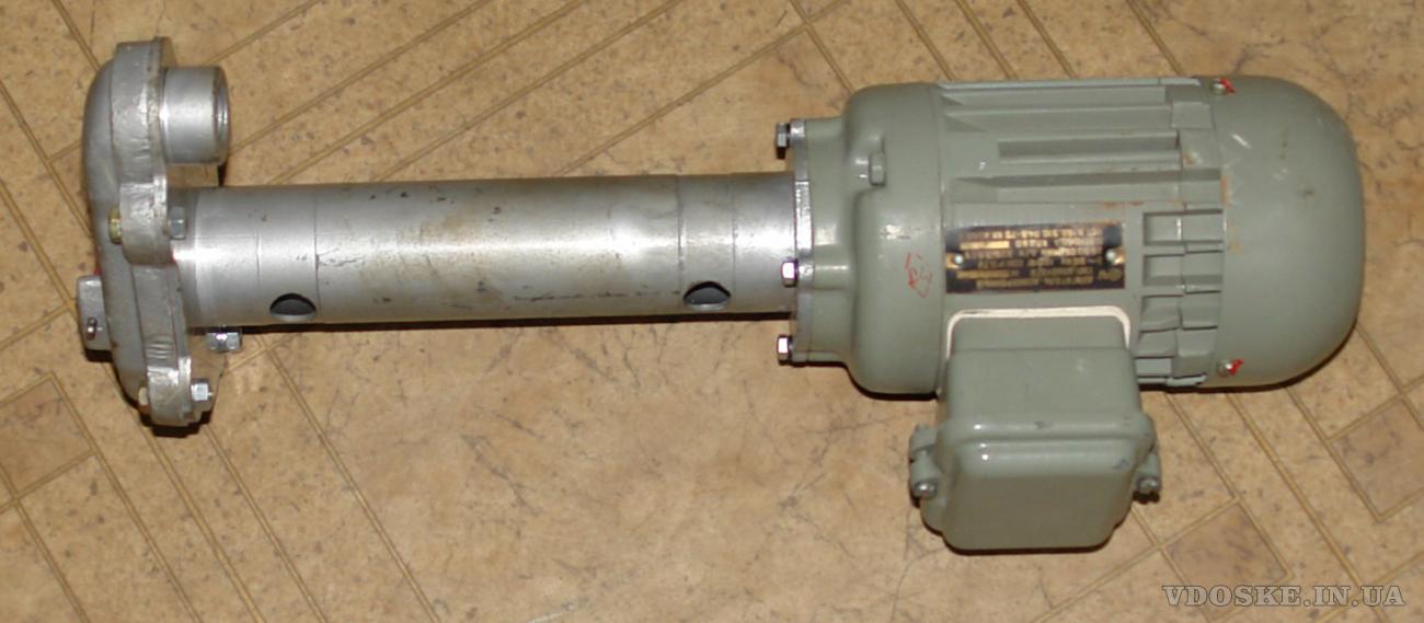 Помпа СОЖ  ПА-22 с электродвигателем  АПН-012/2 120Вт. 2690 об/мин.
