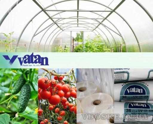 Тепличная плёнкаVatan Plastik. Качественная плёнка для теплиц (Турция)