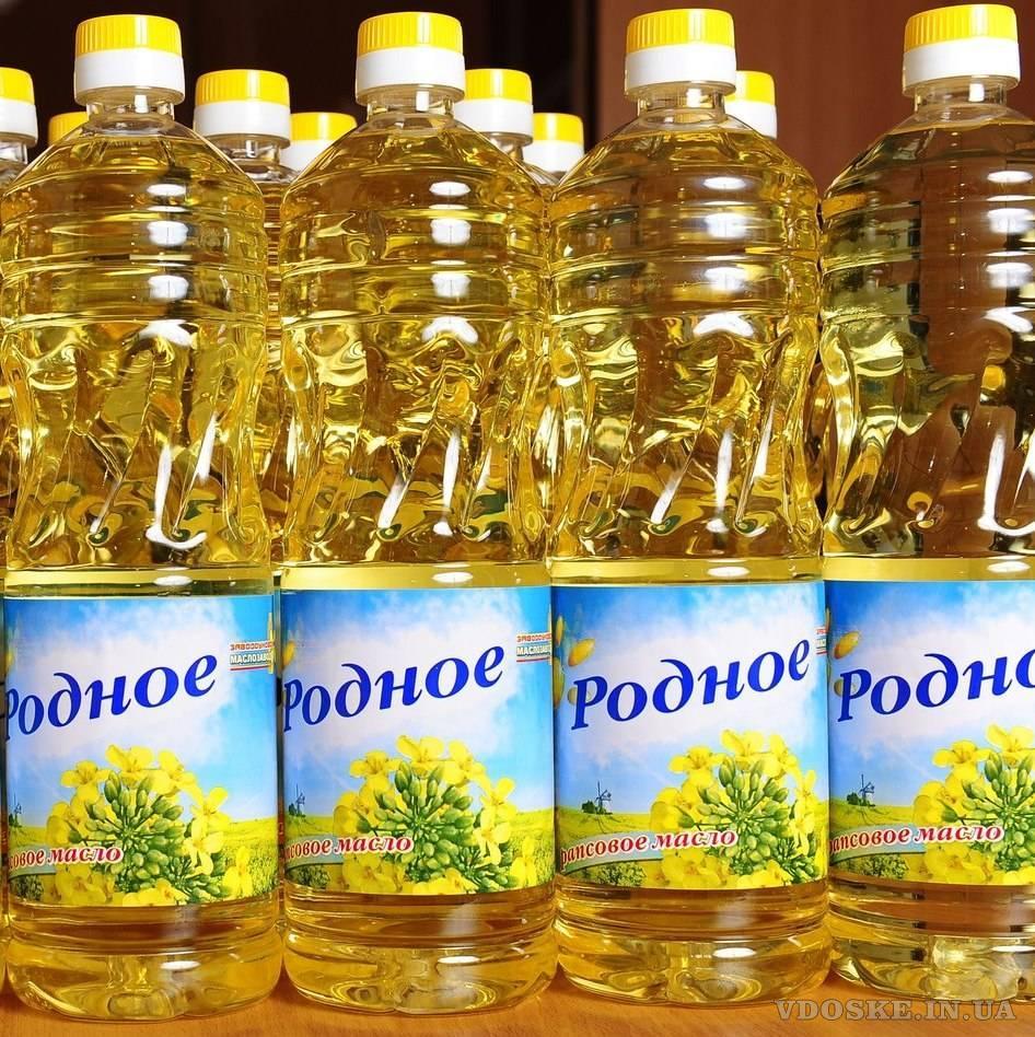 Купить оптом растительное масло Украина. Подсолнечное. Рапсовое.
