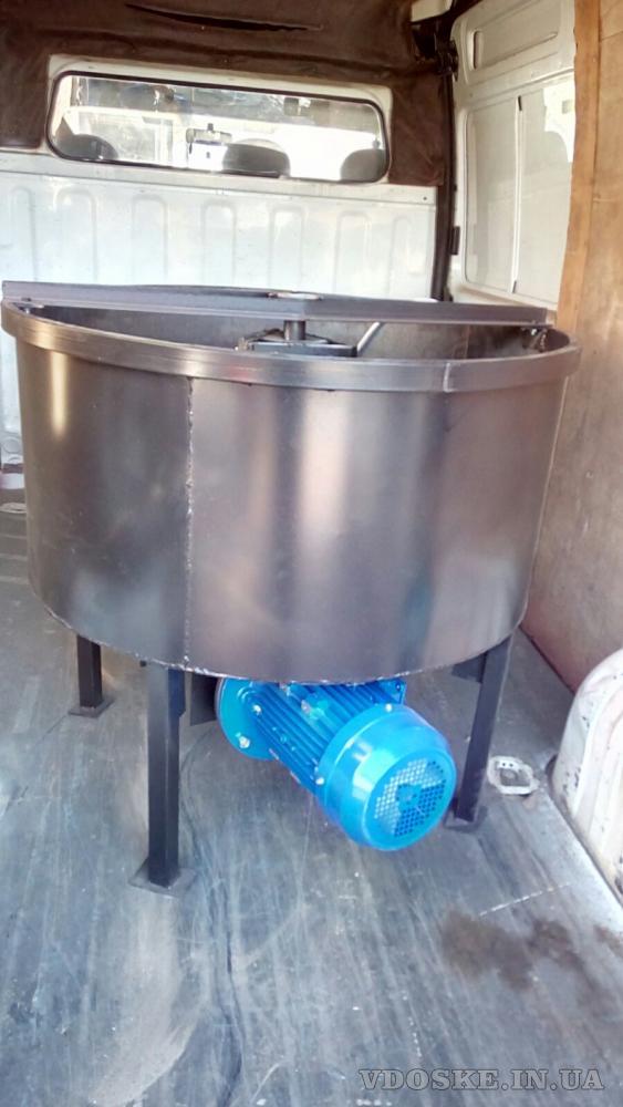 Бетоносмеситель (бетономешалка) принудительного действия на 250 литров