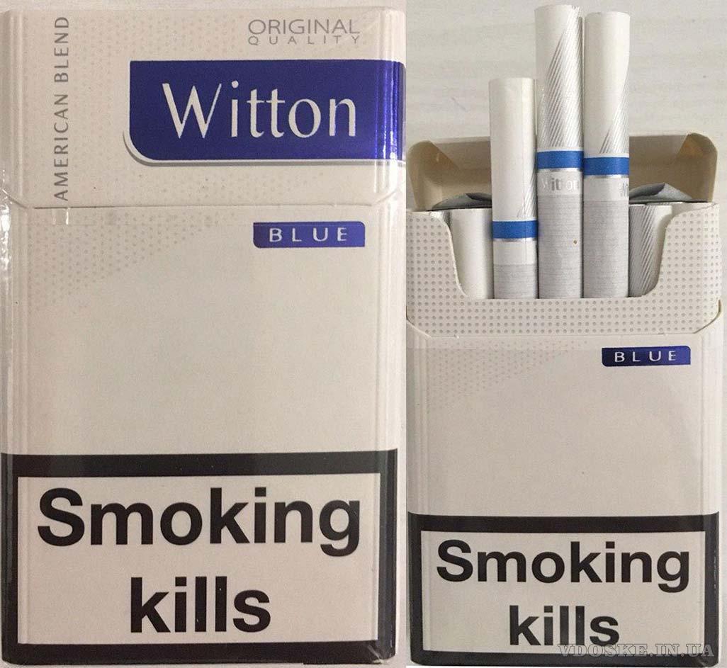 Оптовая продажа сигарет - Witton blue  Duty Free
