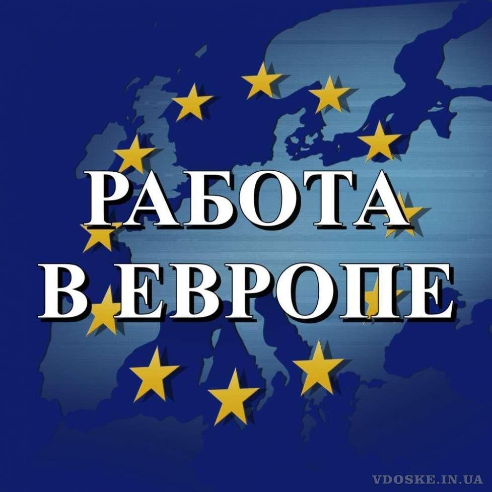 Официальное трудоустройство в Европе. Работа за рубежом