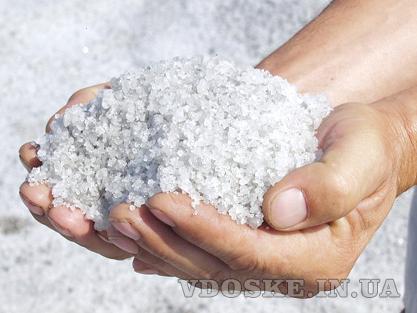 Пищевая морская соль для ванны, без добавок в мешке 25 кг