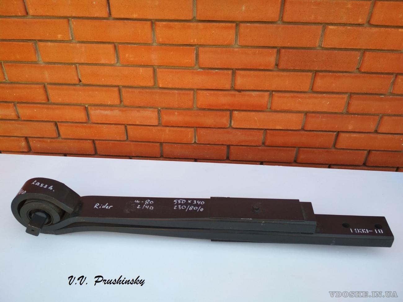 Продам полурессору kassbohrer в сборе новая   069938900: f170z055za75