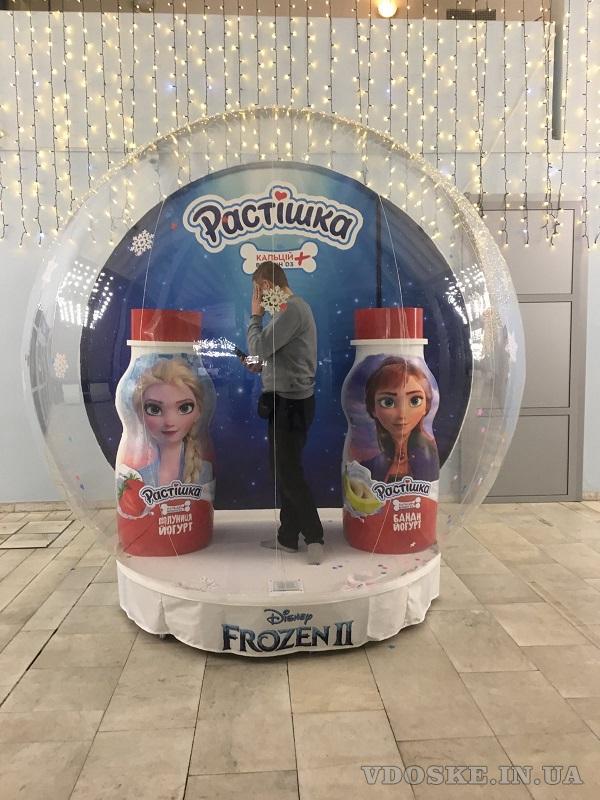 Надувные снежные шары Inflatable Snow Globe