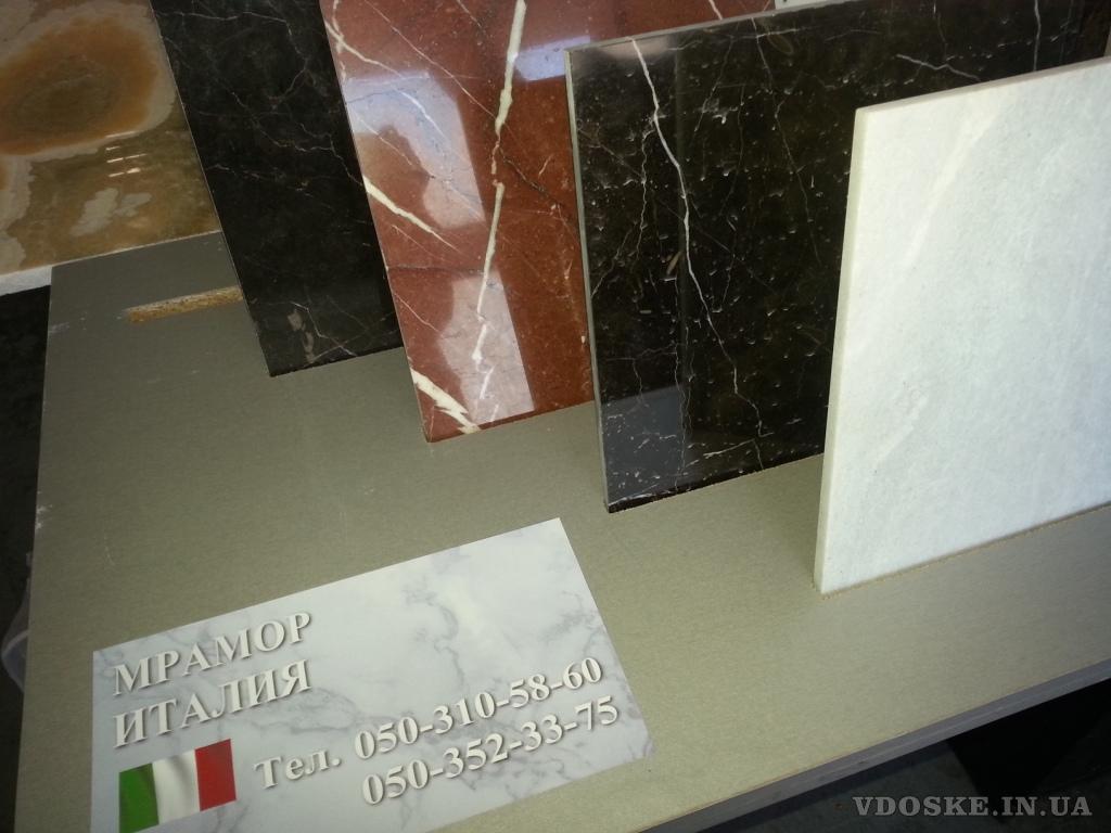 Зеркальный блеск мраморной поверхности, единственные узоры, от природы
