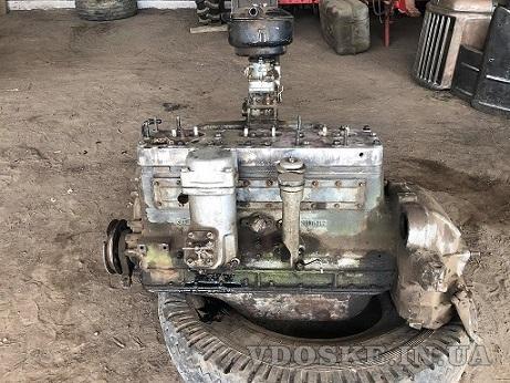 Двигатель ЗИЛ с конверсии все в стандарте