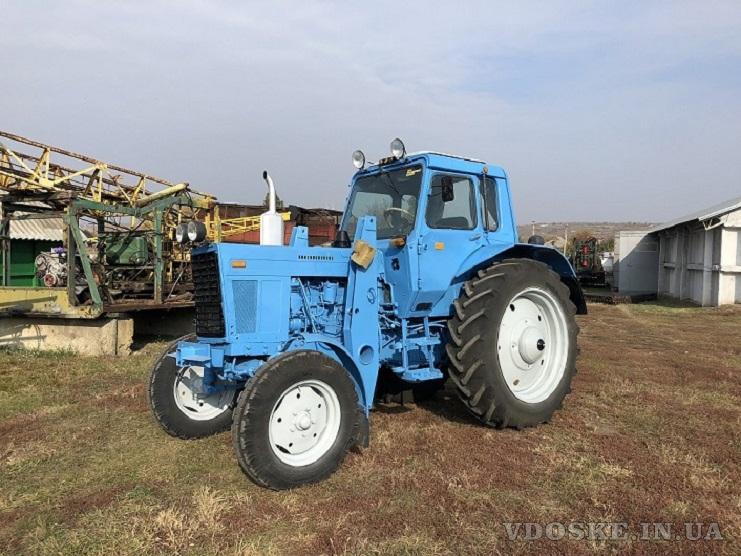 Трактор МТЗ-80, малая наработка
