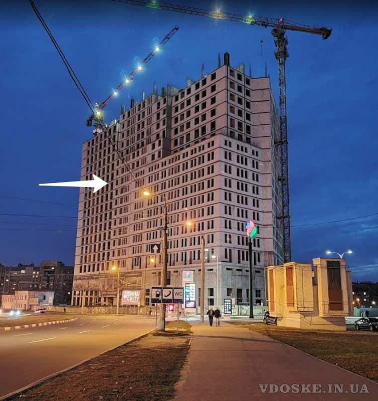 Продам 2-х комн. квартиру в 1-й секции МФК Манхэттен. 13 этаж