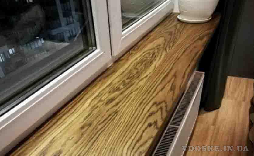Подоконник из дерева KitchenWood