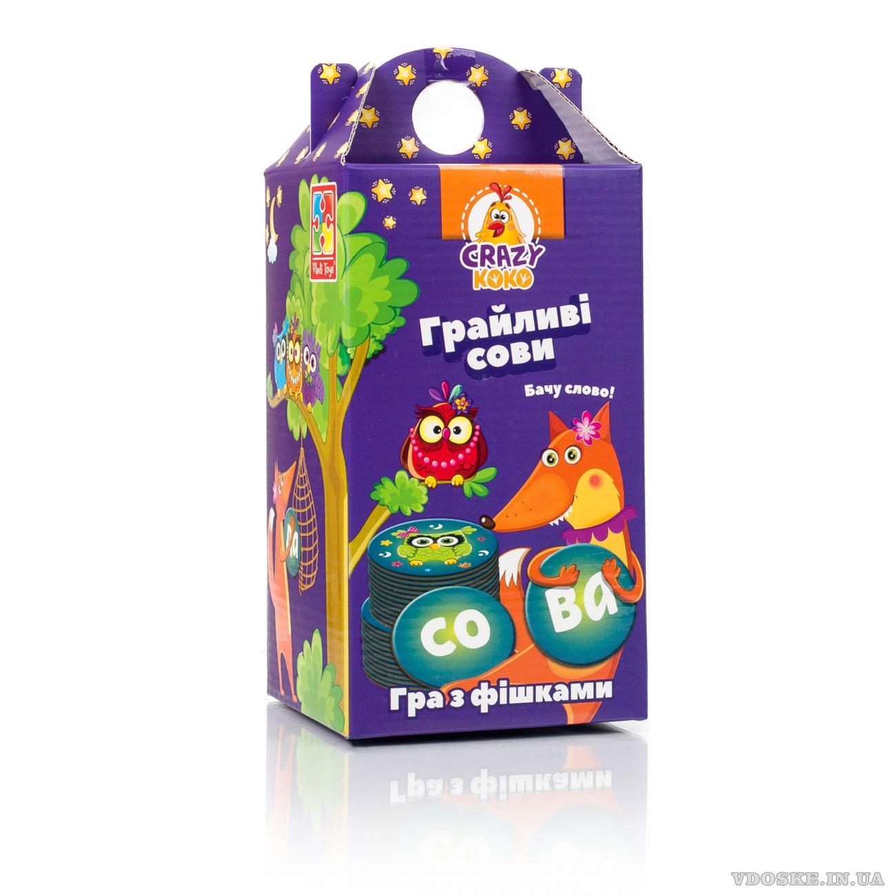 Игра настольная Vladi Toys Crazy Koko Шальные совы