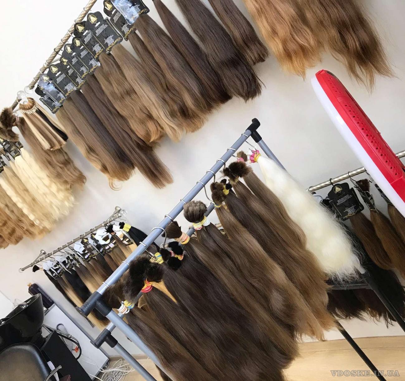Купить славянские волосы для наращивания