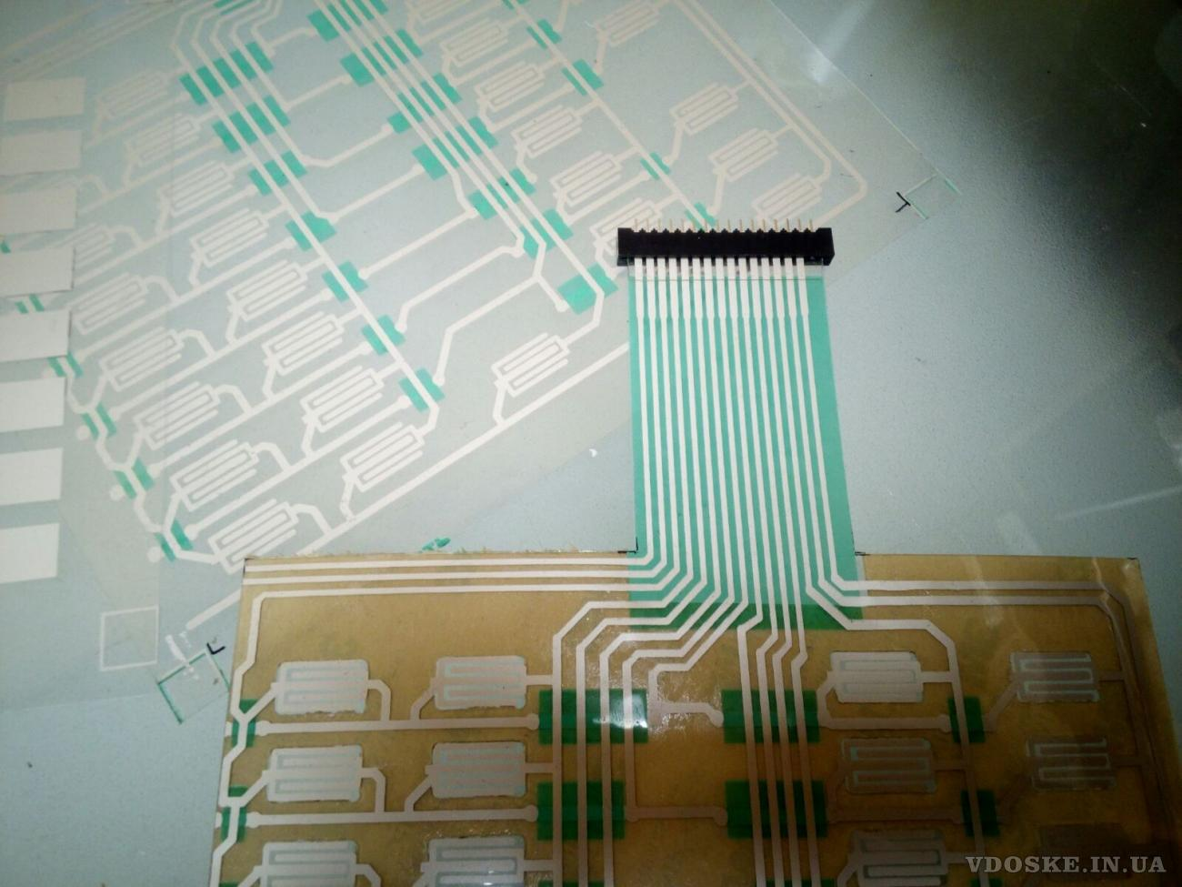 Изготовление мембранных, пленочных клавиатур и приборных лицевых панелей