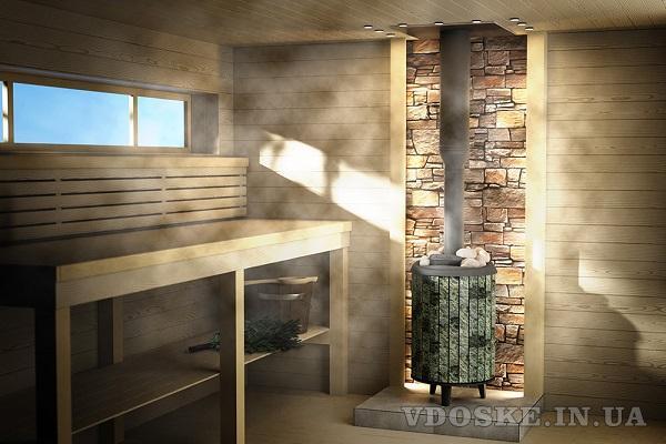 Чугунные дровяные печи в баню от производителя «PROMETALL» Украина.