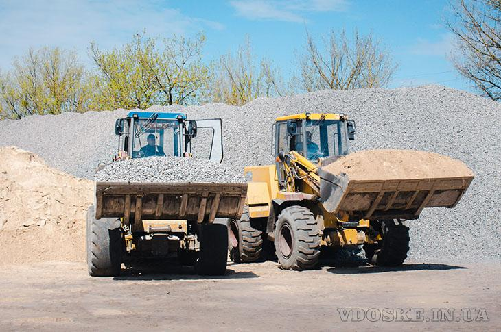 Продаж відсіву піску – доставка Луцьк Волинська область