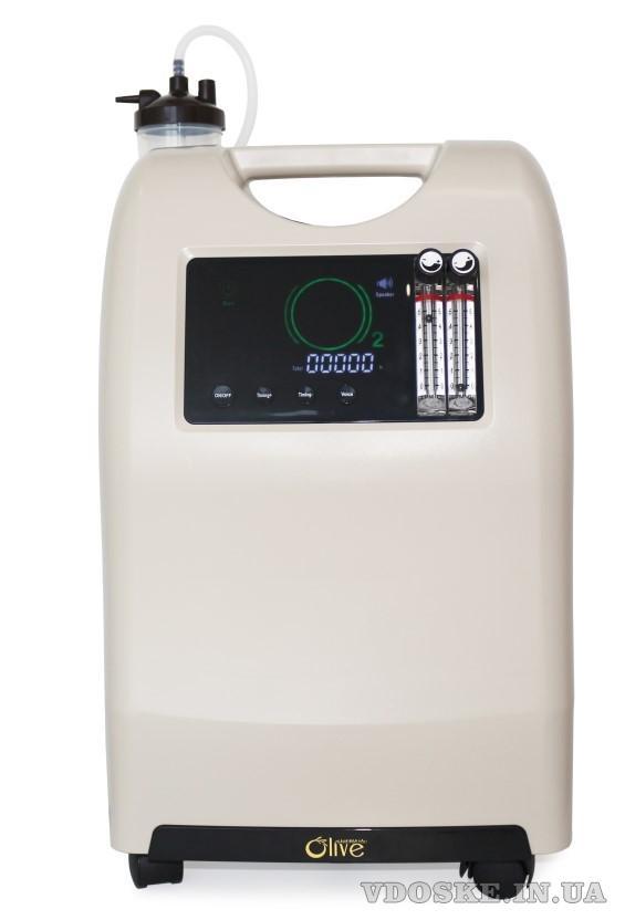 Кисневий концентратор на 10 літрів та кисневий концентратор на 5 літрів