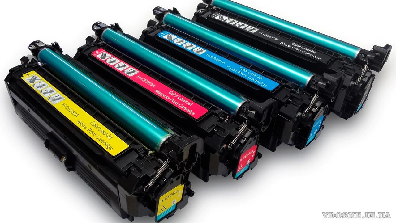 Заправка картриджей в Виннице для лазерных принтеров