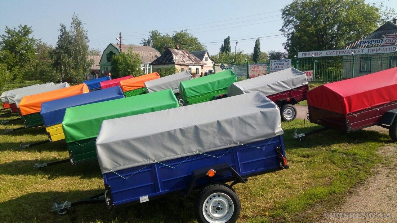 Легковые прицепы всё на базе Зеленьки (Киевська обл.)