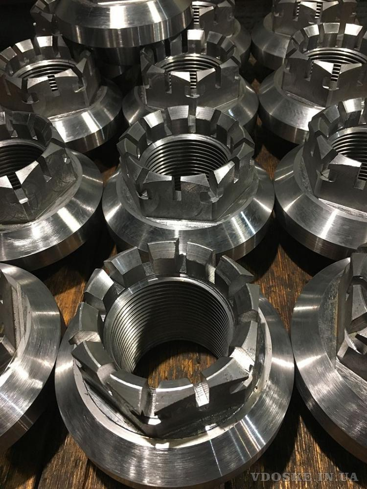 Механическая обработка металлических деталей.